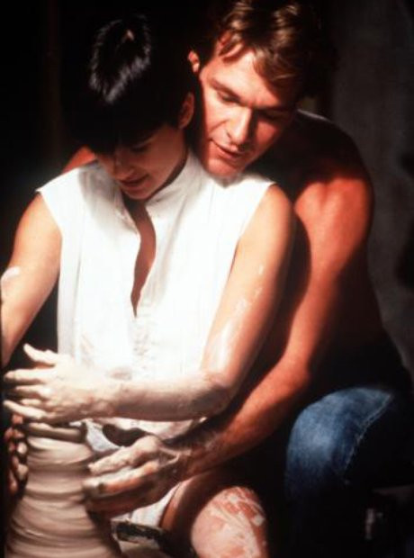 Iconic pottery scene from movie Ghost