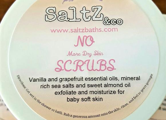 No More Dry Skin SCRUBS Vanilla Grapefruit Body Polish