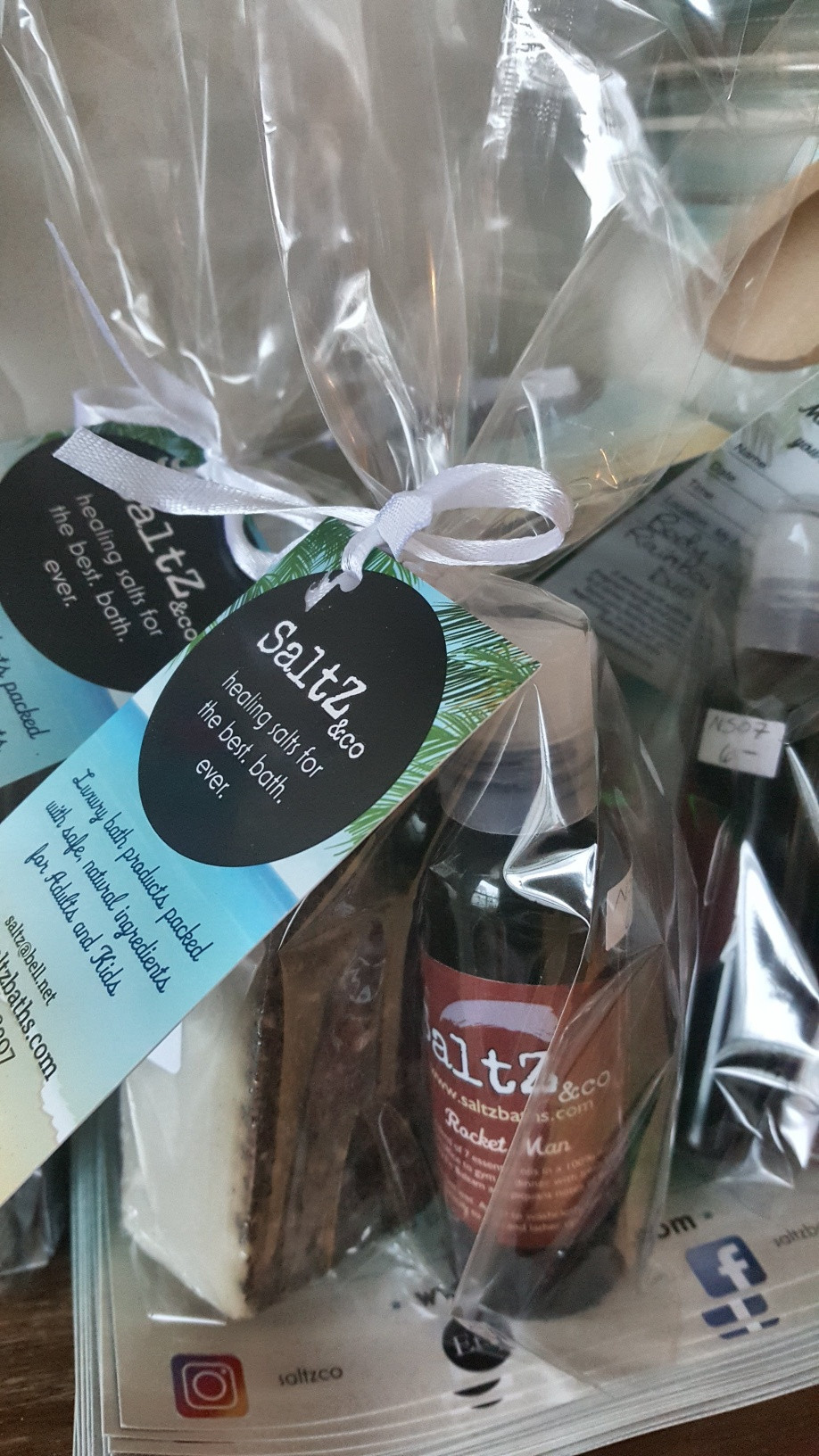 Men's body wash and natural soap gift