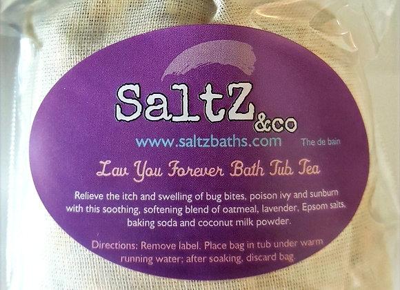 Lav You Forever Oatmeal Bath Tub Tea