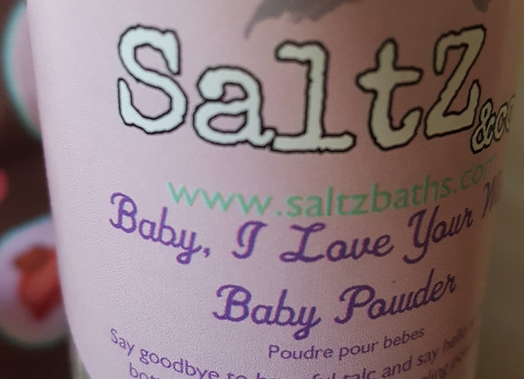 Talc-free effective natural baby powder Toronto