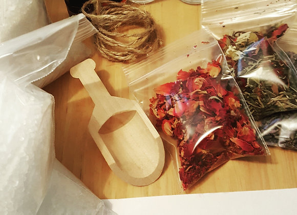 Go Your Own Way Bath Salts Making Kit