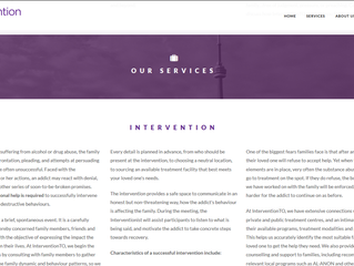 Just launched:  InterventionTO website