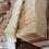 Close up rose soap bar with rose and geranium essential oils