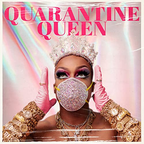 Drag queen singing catchy pandemic tune