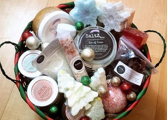 Santa, Baby Ultimate Holiday Gift Basket