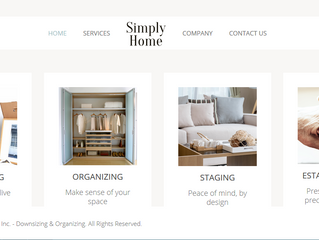 Just launched - Simply Home website