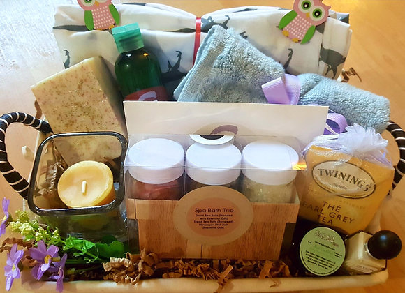 Hey Mama, It's Mom Time Pampering Basket