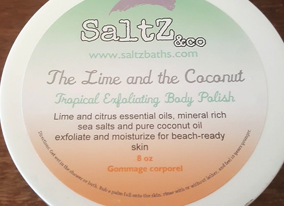 The Lime and the Coconut Exfoliating Body Polish