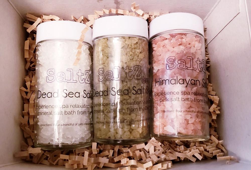 Bath Salt sampler trio