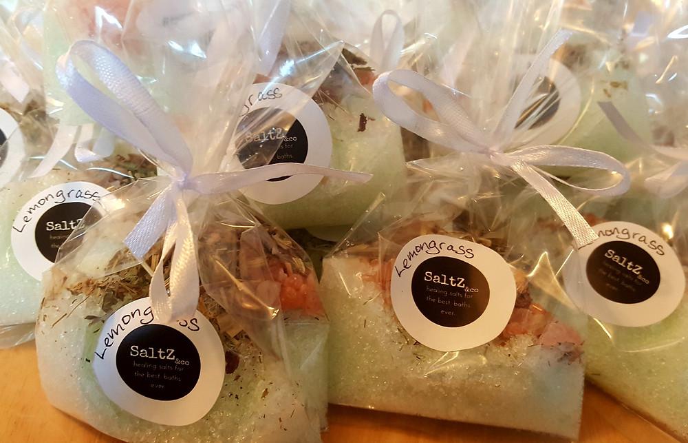 Sea of Green Lemongrass bath salts