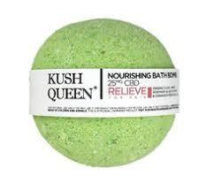 Kush Queen CBD bath bomb