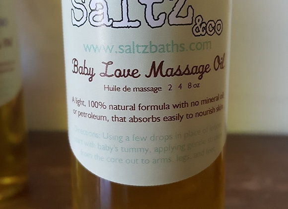 No mineral oil baby oil for natural moisture and baby massage