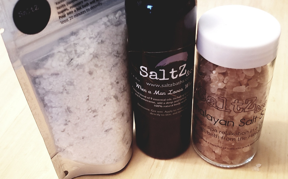 SaltZ&Co men's skin care products