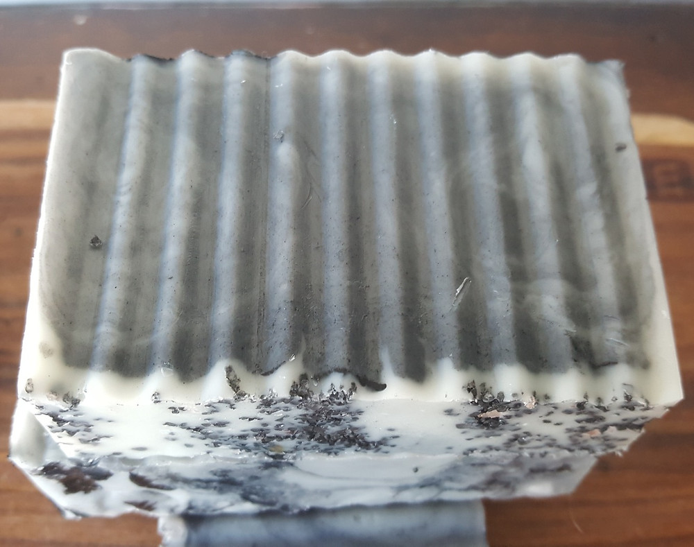 Charcoal soap by SaltZ&Co