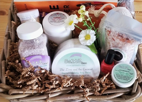 Girls Just Wanna Night In Self-Care Gift Basket
