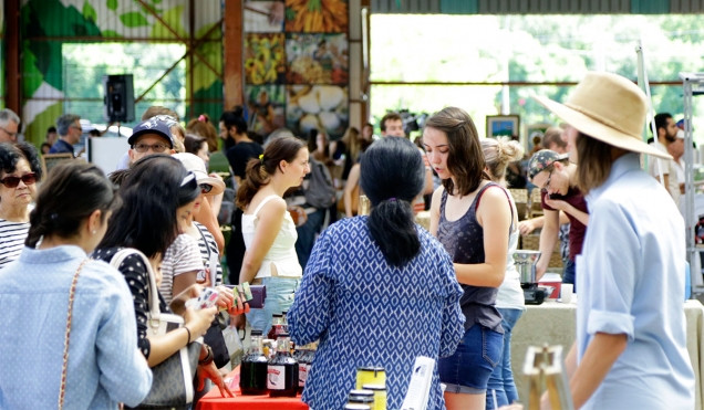 Evergreen Brickworks Sunday Market
