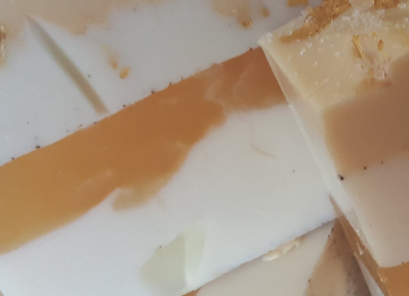 Creamy gentle soap that smells like cake
