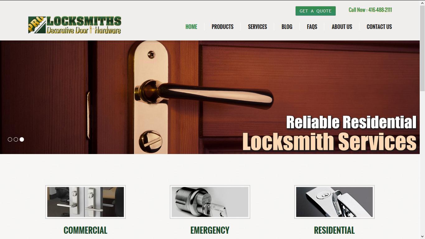 Pro Locksmiths, Toronto