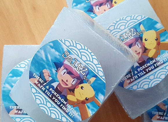 Pokemon soap with toy inside