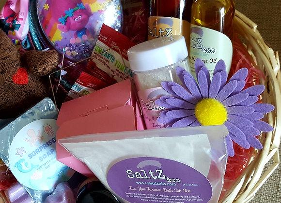 Spa birthday gift for girls
