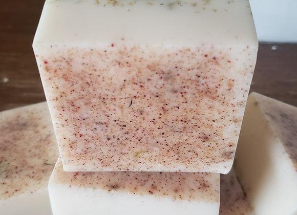 Moisturizing chamomile facial soap
