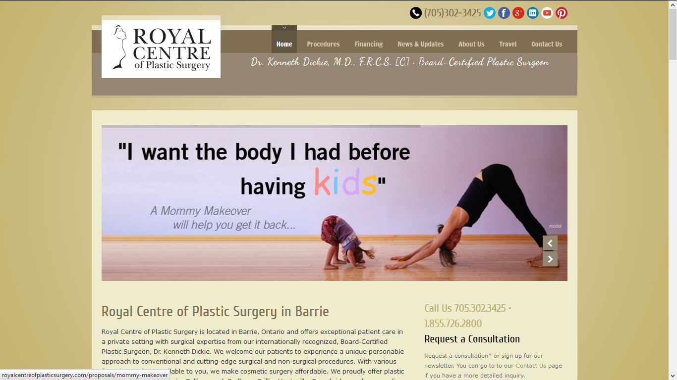 Royal Plastic Surgery, Barrie