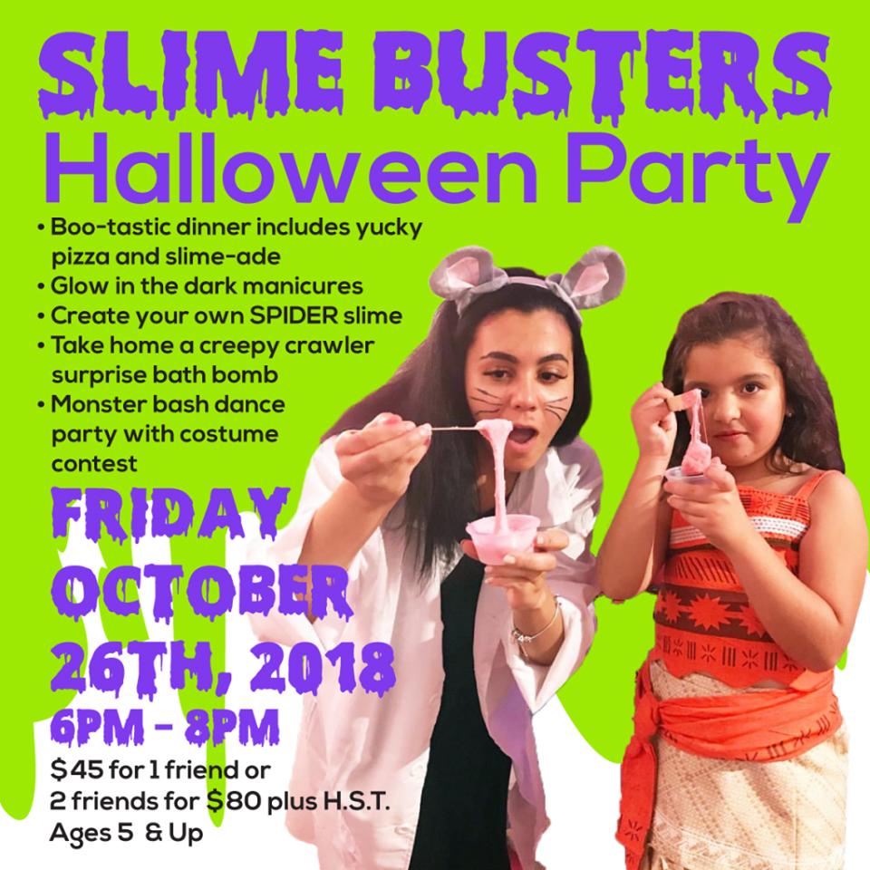 Glama Gals East York Halloweeen Party