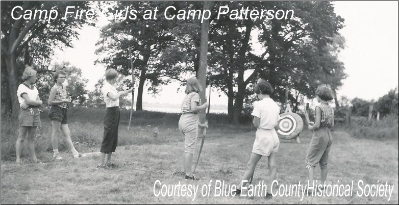 Camp Fire Girls Archery