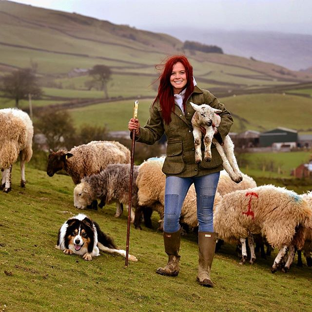 #redshepherdess
