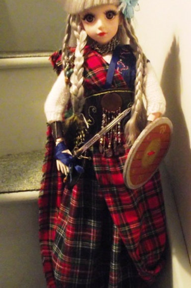 Celtic Warrior Princess Doll 'Murdina'