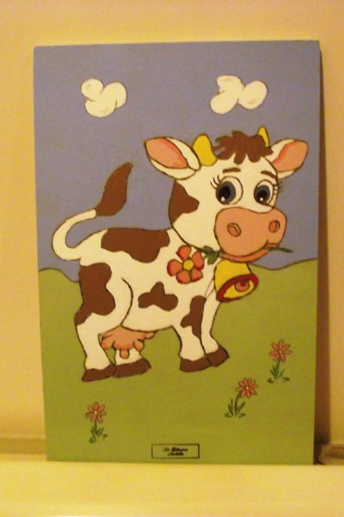 Nursery Art/ Cow
