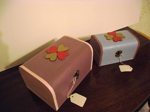 Wooden Jewellery/Storage Box (Large)