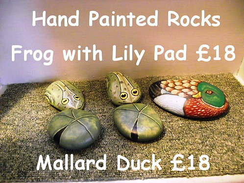 Hand Painted large Rocks