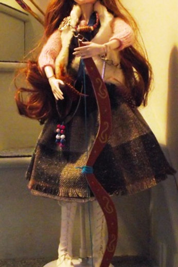 Celtic Warrior Princess Doll 'Alickina'