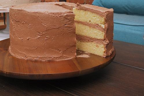 Yellow Cake, Chocolate Buttercream