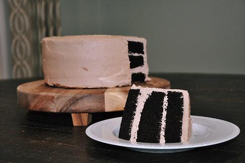Chocolate Cake, Chocolate Buttercream