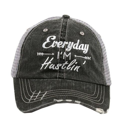 Every Day I'm Hustlin' Trucker Cap