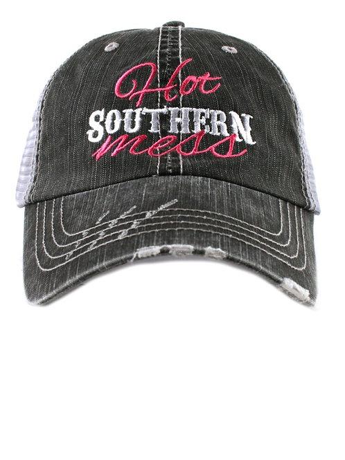 Hot Southern Mess Trucker Cap