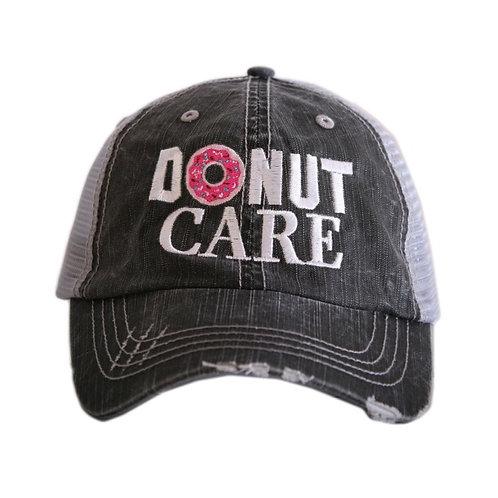 Donut Care Trucker Cap