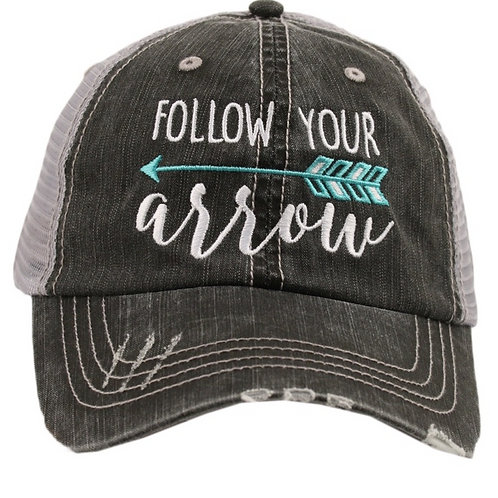Follow Your Arrow Trucker Cap