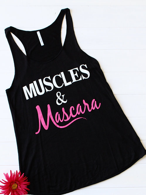 Muscles & Mascara Tank