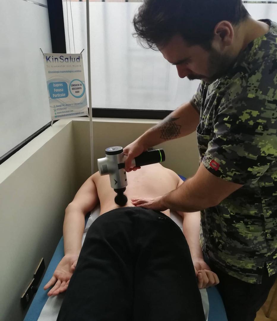 Kinesiología traumatológica Hypervolt