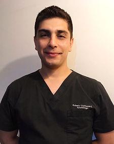 Kinesiologo Roberto Contreras