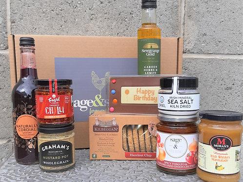 'Happy Birthday' Hamper Box