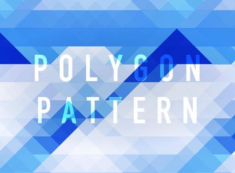 【Illustrator】お手軽!ポリゴンっぽいパターン制作術で時短デザイン