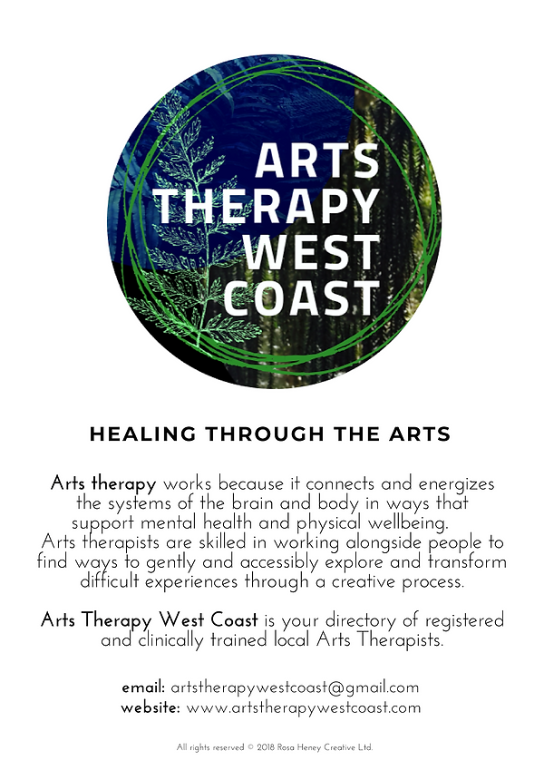 Arts Therapy West Coast Poster 2019 v2.p