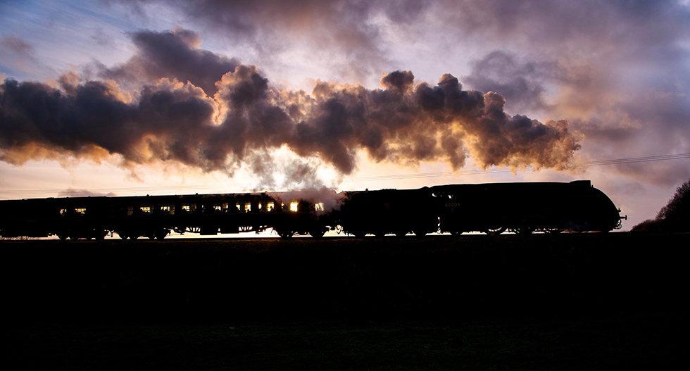 Sunset on the Union - Last run of Saturd