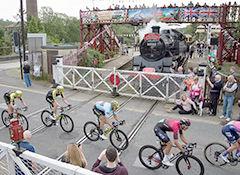 Tour of Britain Race passing through Ramsbottom - ©Pat Stott Kilner