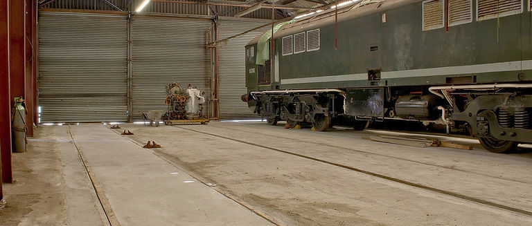 Upgrade of diesel shed to allow for road vehicle access/maintenance - © Rory Lushman